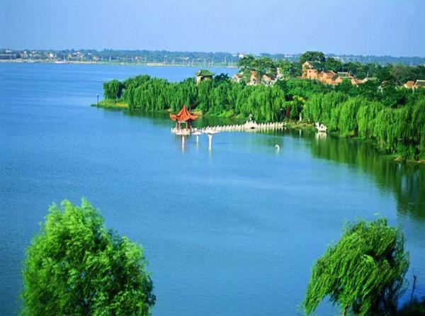 万亩龙湖,荷香满塘!河南这个水城,清凉一季!
